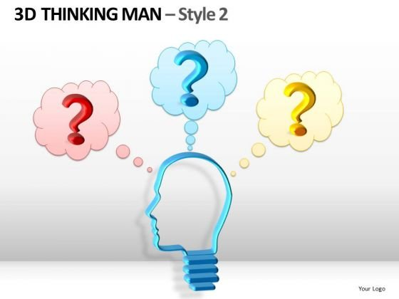 3d Thinking Man Style 2 Ppt 4