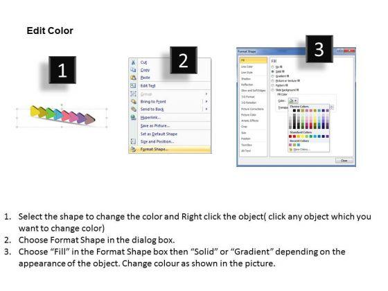 3d_uniform_flow_arrows_8_steps_powerpoint_chart_slides_3