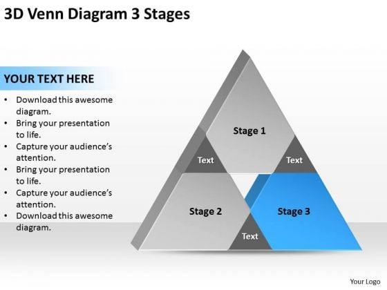 3d Venn Diagram Stages Ppt Sample Business Plan Templates PowerPoint