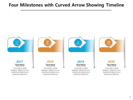 4_Major_Achievement_Timeline_Milestones_Curved_Roadmap_Ppt_PowerPoint_Presentation_Complete_Deck_Slide_11