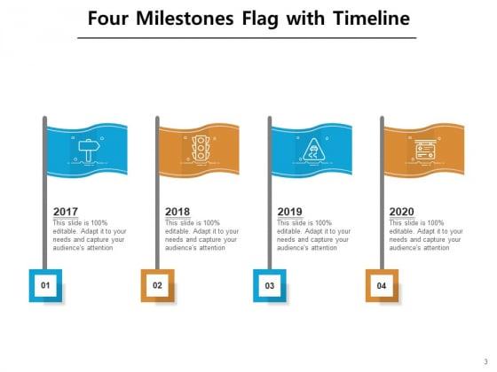 4_Major_Achievement_Timeline_Milestones_Curved_Roadmap_Ppt_PowerPoint_Presentation_Complete_Deck_Slide_3