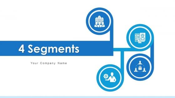 4 Segments Marketing Plan Ppt PowerPoint Presentation Complete Deck With Slides