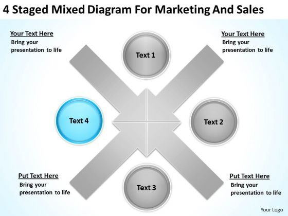 4 staged mixed diagram for marketing and sales ppt business case 4 staged mixed diagram for marketing and sales ppt business case template powerpoint templates powerpoint templates flashek Images