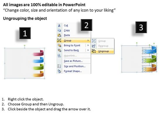 4_stages_parallel_process_flow_diagram_template_for_business_plan_powerpoint_slides_2