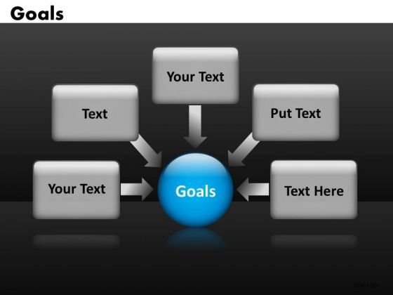 4 Text Boxes Arrows PowerPoint Templates Ppt Slides