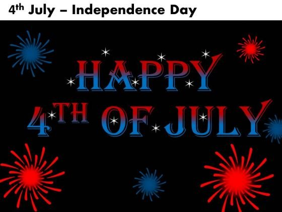 4th July Independence Day PowerPoint Presentations