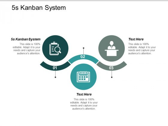 5s Kanban System Ppt Powerpoint Presentation Outline Files Cpb