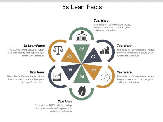 5S Lean Facts Ppt PowerPoint Presentation File Slide