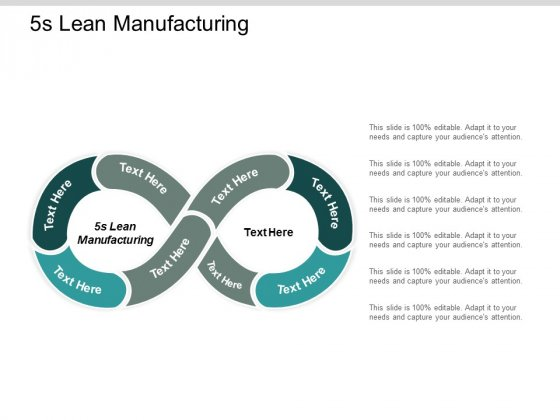 5s Lean Manufacturing Ppt Powerpoint Presentation Show Master Slide Cpb