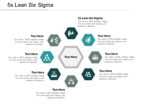 5s Lean Six Sigma Ppt Powerpoint Presentation Model Icon Cpb