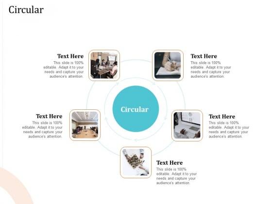 5 Pillars Business Long Term Plan Circular Ppt Visual Aids PDF