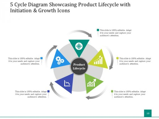 5_Stage_Circular_Process_Management_Gear_Ppt_PowerPoint_Presentation_Complete_Deck_Slide_10