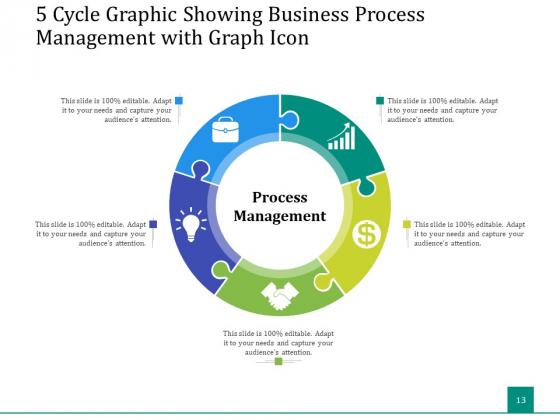 5_Stage_Circular_Process_Management_Gear_Ppt_PowerPoint_Presentation_Complete_Deck_Slide_13