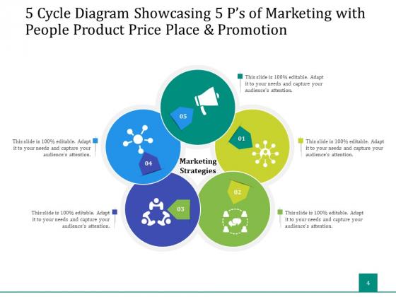5_Stage_Circular_Process_Management_Gear_Ppt_PowerPoint_Presentation_Complete_Deck_Slide_4