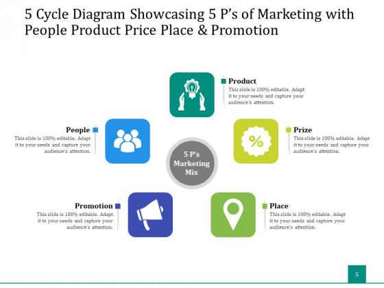 5_Stage_Circular_Process_Management_Gear_Ppt_PowerPoint_Presentation_Complete_Deck_Slide_5
