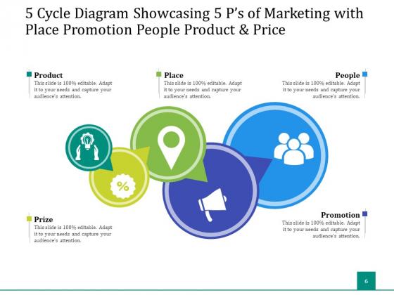 5_Stage_Circular_Process_Management_Gear_Ppt_PowerPoint_Presentation_Complete_Deck_Slide_6