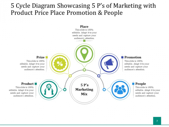 5_Stage_Circular_Process_Management_Gear_Ppt_PowerPoint_Presentation_Complete_Deck_Slide_7