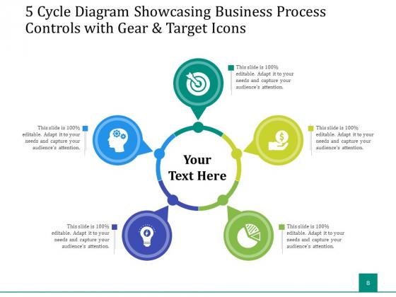 5_Stage_Circular_Process_Management_Gear_Ppt_PowerPoint_Presentation_Complete_Deck_Slide_8