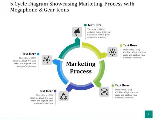 5_Stage_Circular_Process_Management_Gear_Ppt_PowerPoint_Presentation_Complete_Deck_Slide_9