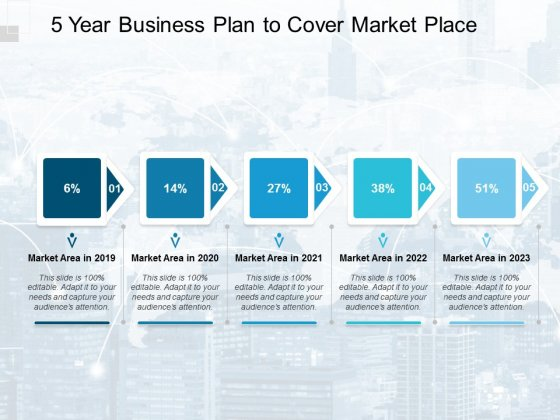 5 Year Business Plan To Cover Market Place Ppt PowerPoint Presentation Portfolio Good