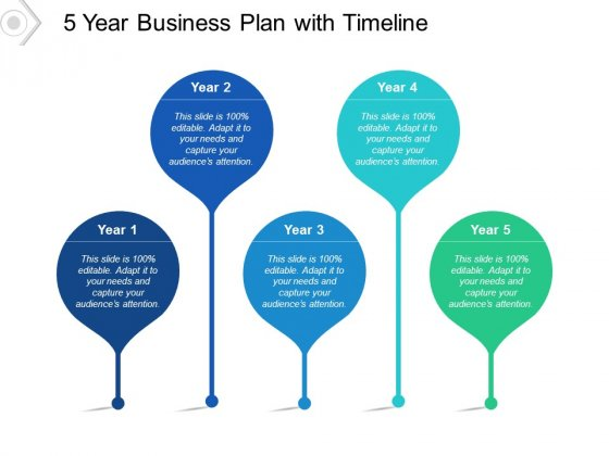 5 Year Business Plan With Timeline Ppt PowerPoint Presentation Professional Example Introduction