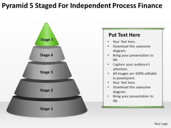 5 Staged For Independent Process Finance Ppt Clothing Line Business Plan PowerPoint Slides