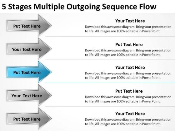 5 stages multiple outgoing sequence flow one page business plan 5 stages multiple outgoing sequence flow one page business plan powerpoint templates powerpoint templates flashek Gallery
