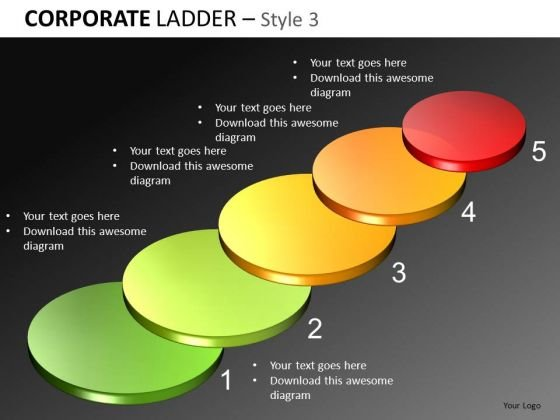 5 Steps Diagram PowerPoint Templates
