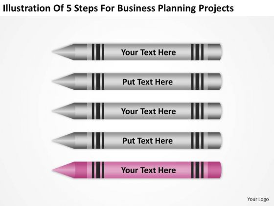 5 Steps For Business Planning Projects Ppt Free Help PowerPoint Slides