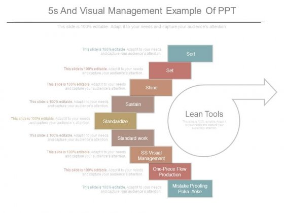 5s And Visual Management Example Of Ppt