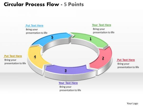 6 Different Views On The Issue Ppt Slides Diagrams Template