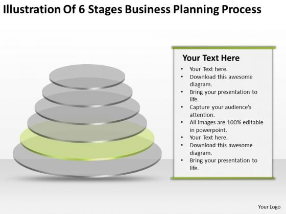 6 Stages Business Planning Process Ppt Example PowerPoint Templates