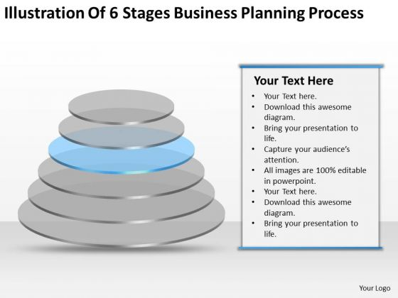 6 Stages Business Planning Process Ppt Starting Small PowerPoint Templates