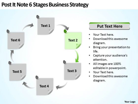 6 Stages Business Planning Strategy Ppt Small Sample PowerPoint Slides