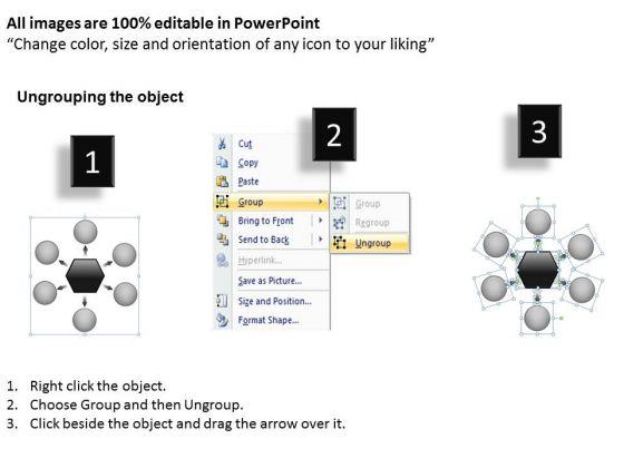6_steps_linear_flow_business_process_relative_circular_arrow_powerpoint_slides_2