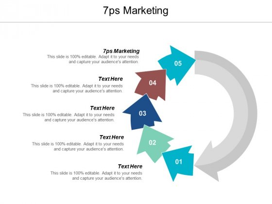 7ps Of Marketing Ppt Powerpoint Presentation Slides Graphics Template Cpb