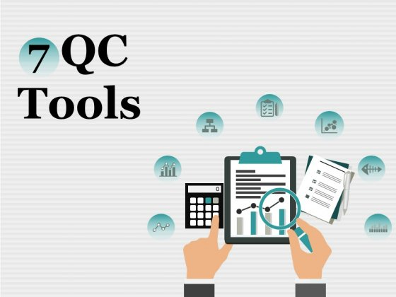 7 QC Tools Ppt PowerPoint Presentation Complete Deck With Slides