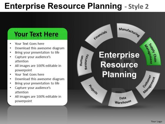 7 Stage Circle Chart Diagram PowerPoint Slides And Ppt Diagram Templates
