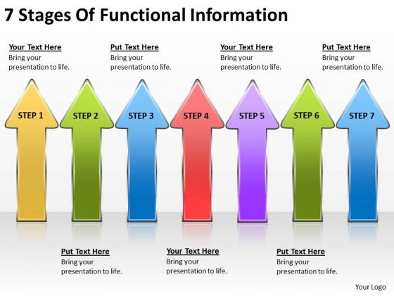 7 Stages Of Functional Information Music Business Plan PowerPoint ...