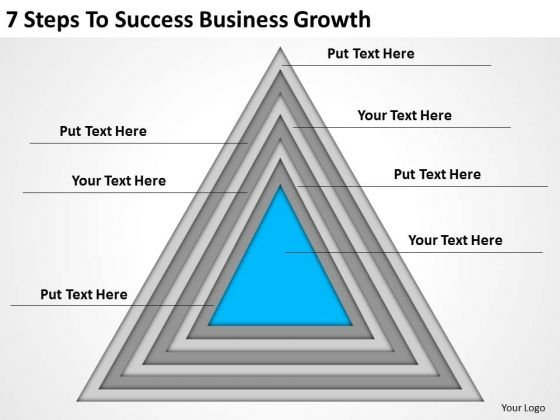 7 Steps To Success Business Growth Ppt Basic Plan PowerPoint Slides