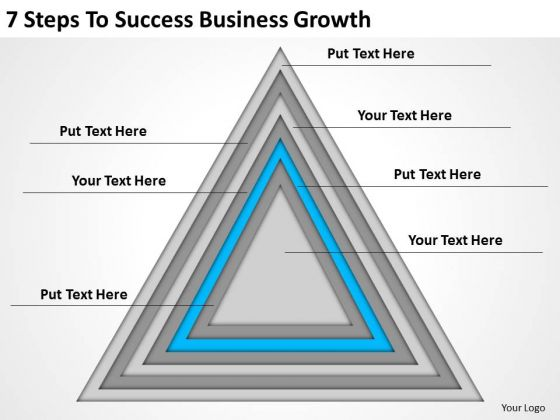 7 Steps To Success Business Growth Ppt Plan PowerPoint Slides