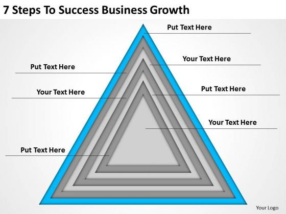 7 Steps To Success Business Growth Ppt Plan Writer Software PowerPoint Templates