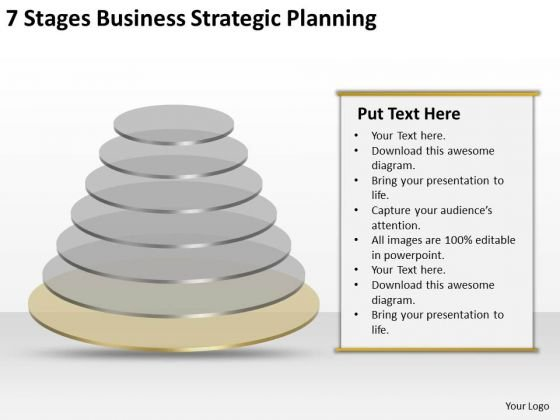 7 Stgaes Business Strategic Planning PowerPoint Slides