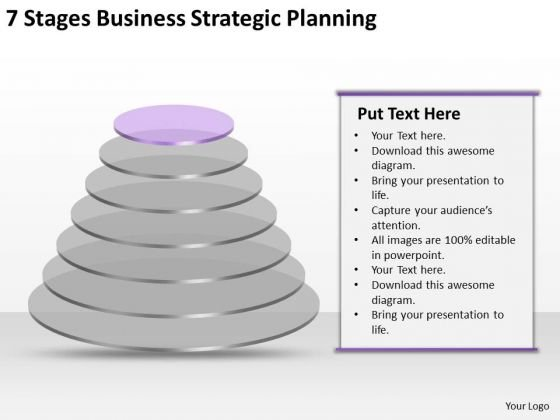 7 Stgaes Business Strategic Planning Ppt How To Develop PowerPoint Slides