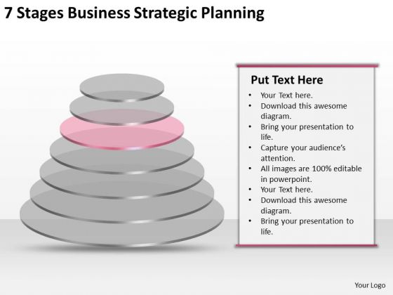 7 Stgaes Business Strategic Planning Ppt PowerPoint Templates