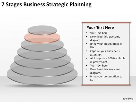 7 Stgaes Business Strategic Planning Ppt Sample Template PowerPoint Slides