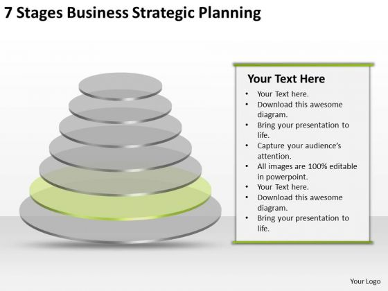 7 Stgaes Business Strategic Planning Small Sample PowerPoint Slides