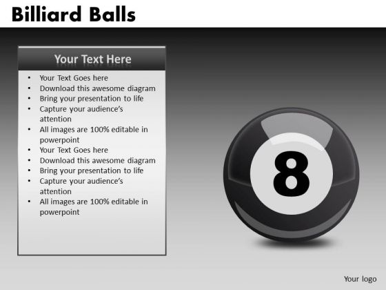 8 Ball Pool PowerPoint Graphics