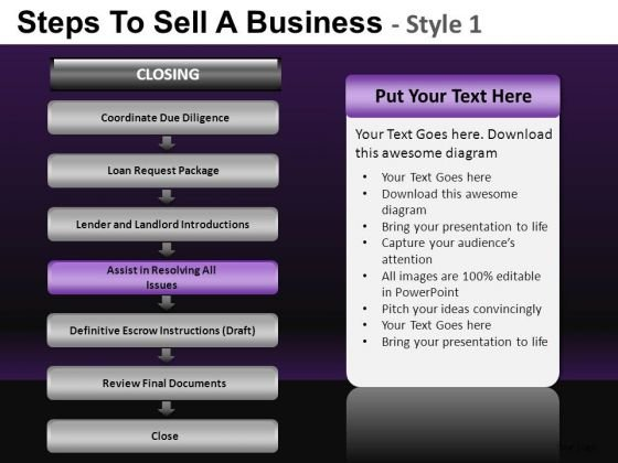 8 Stage Process Showing Selling PowerPoint Slides And Ppt Diagram Templates