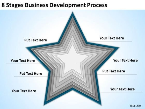 8 Stages Business Development Process Ppt Elements Of Plan PowerPoint Templates